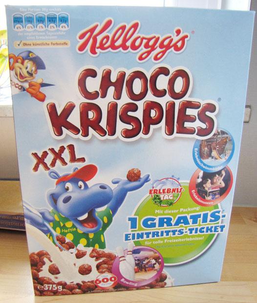 Kelloggs Choco Krispies glutenfrei