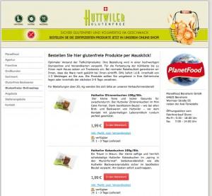 Huttwiler Onlineshop