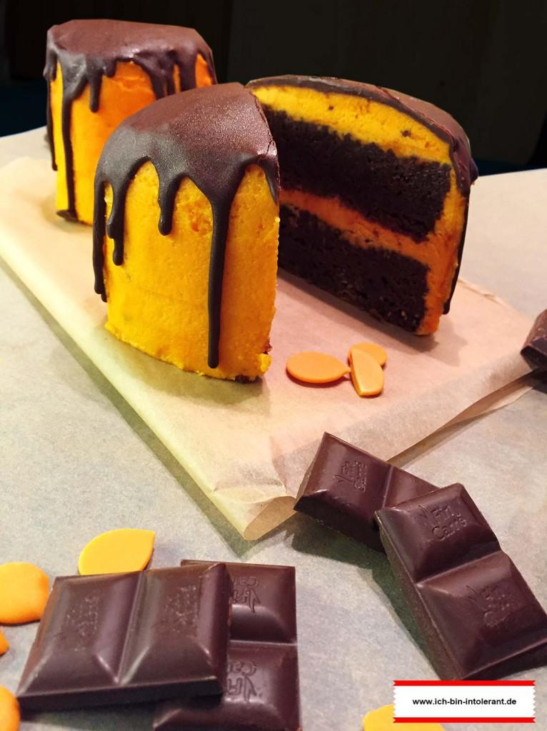 Halloween Cake für Halloween-Special bei Was du nicht kennst...