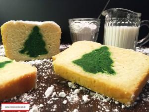 weihnachtlicher Überraschungskuchen glutenfrei