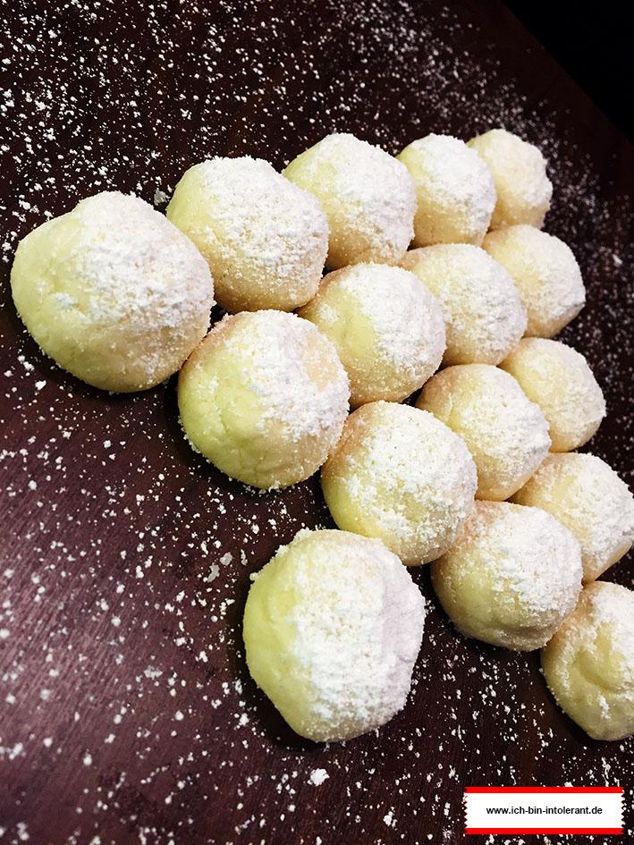 Snowball Cookies glutenfrei