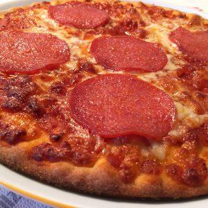 glutenfreie Salamipizza von Lidl