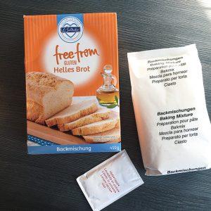 Glutenfreie Backmischung von Lidl