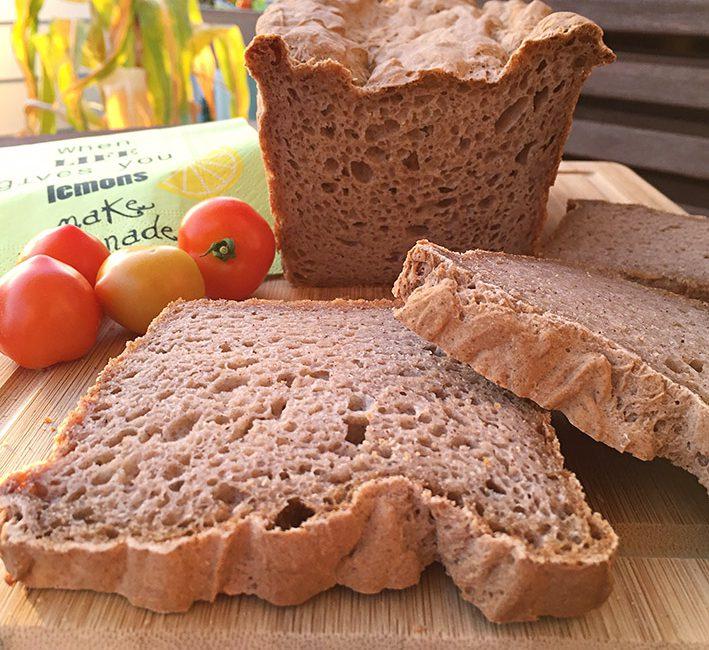 Glutenfreies dunkles Brot von Lidl